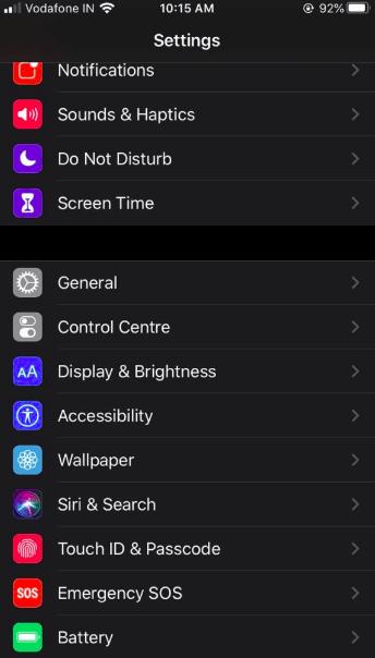 cara setting dark mode whatsapp di iphone