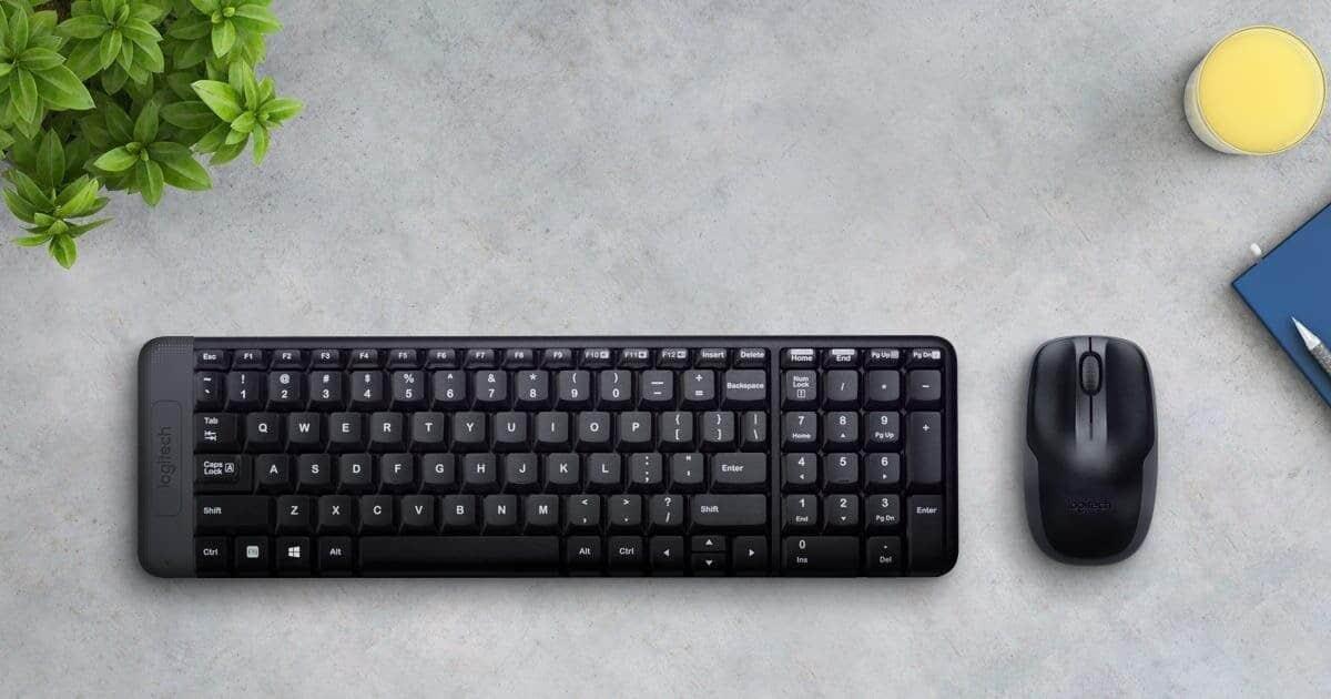 Review Keyboard Logitech MK220